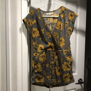 A monk and Lou floral romper!